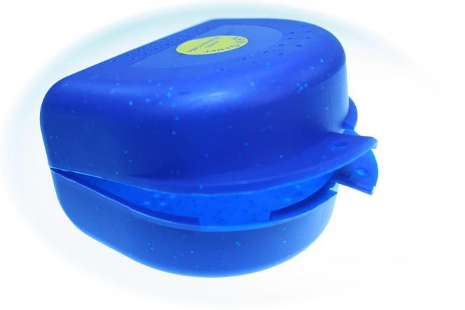 Spangenbox, magnum, blau